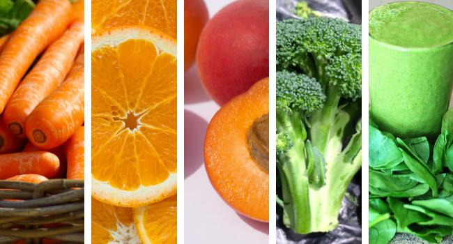 veg source of vitamin a