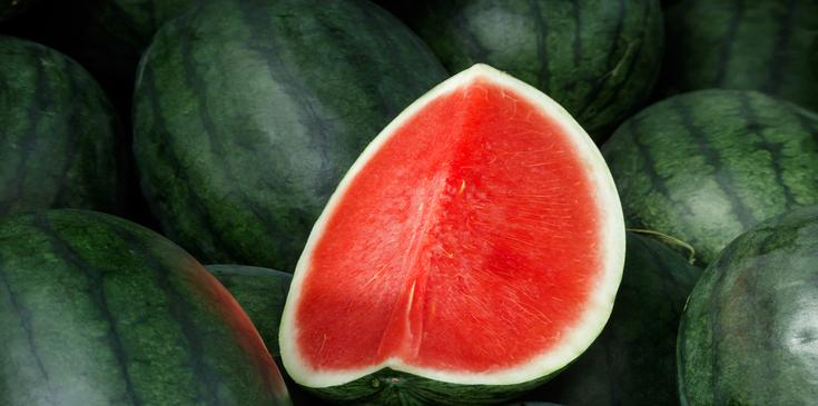 chopped seedless watermelon