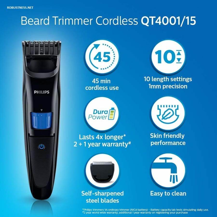 philips brand trimmer