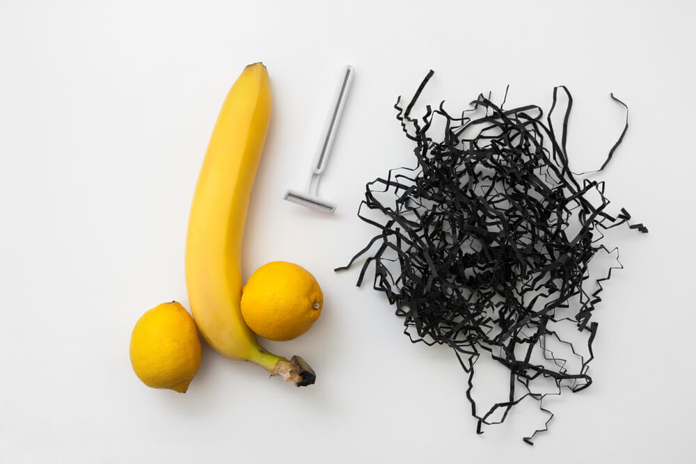 banana with lemon