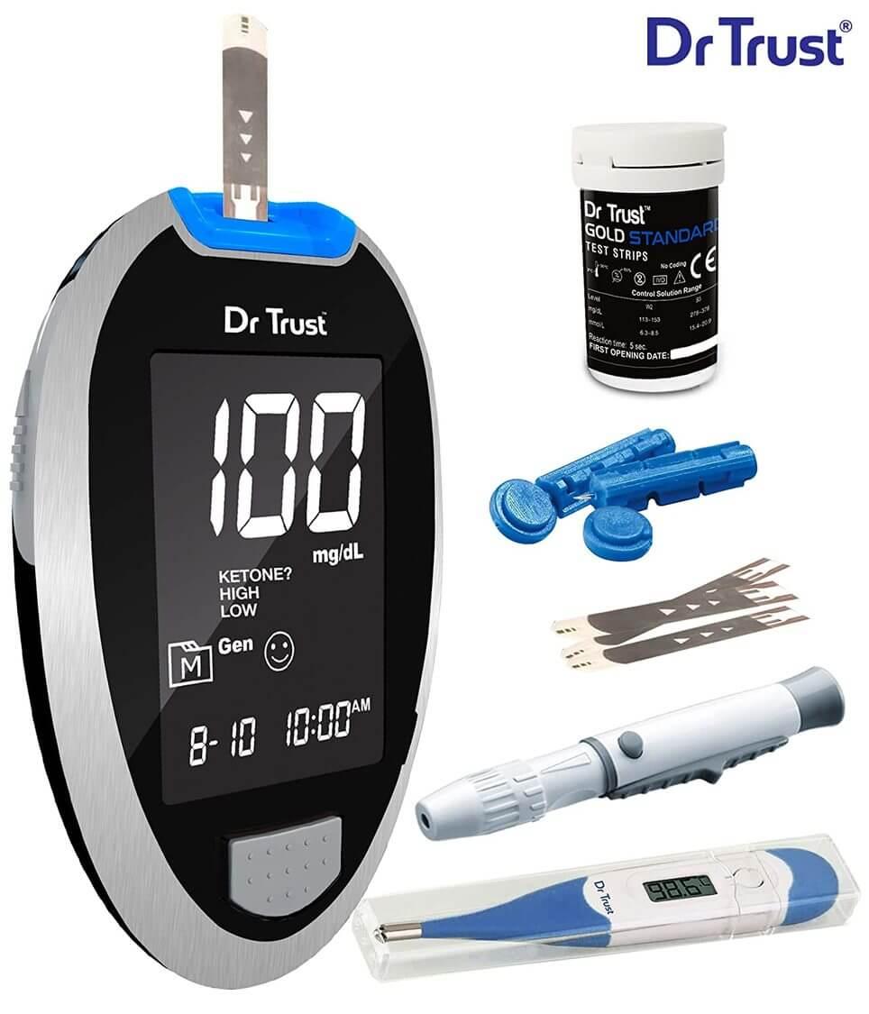 Dr trust automatic blood sugar machine