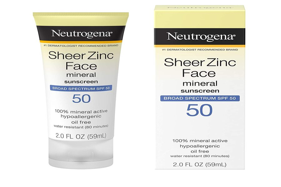 Neutrogena Ultra Sheer Dry-Touch Sunblock best sunscreens in india