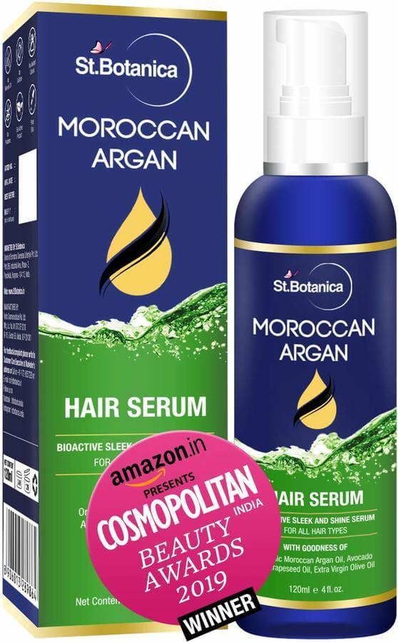 Top hair serum StBotanica Moroccan Argan Hair Serum