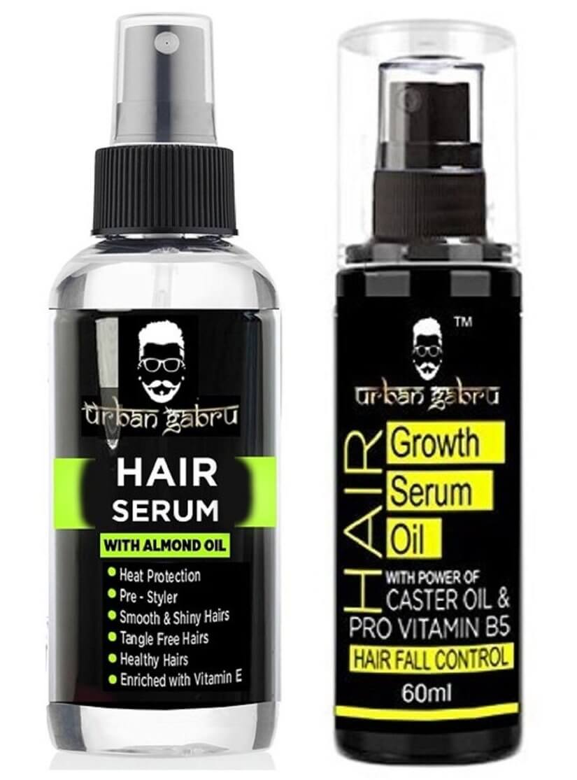 UrbanGabru Hair Serum with Almond Oil