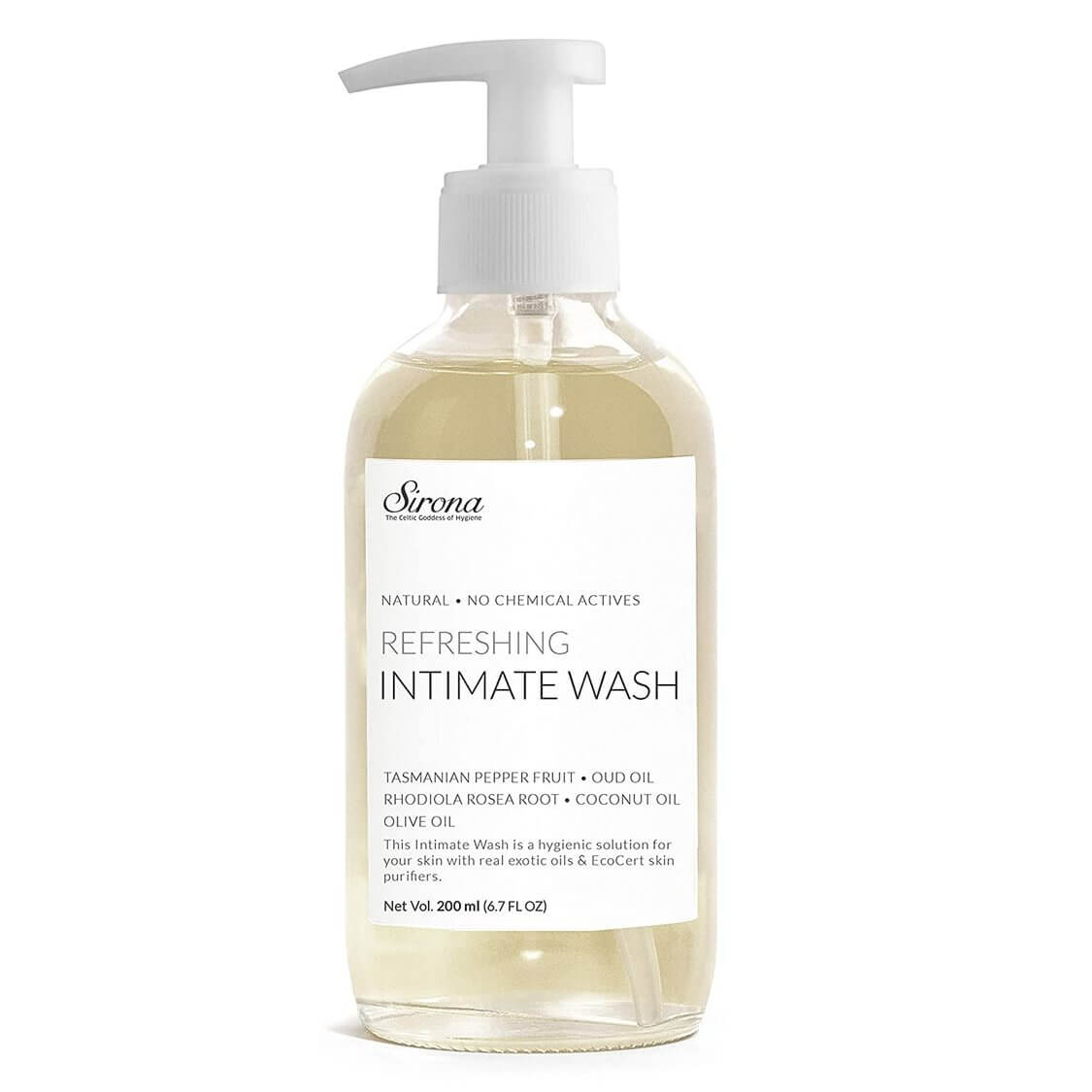 best intimate wash for women Sirona Natural pH Balanced Intimate Wash