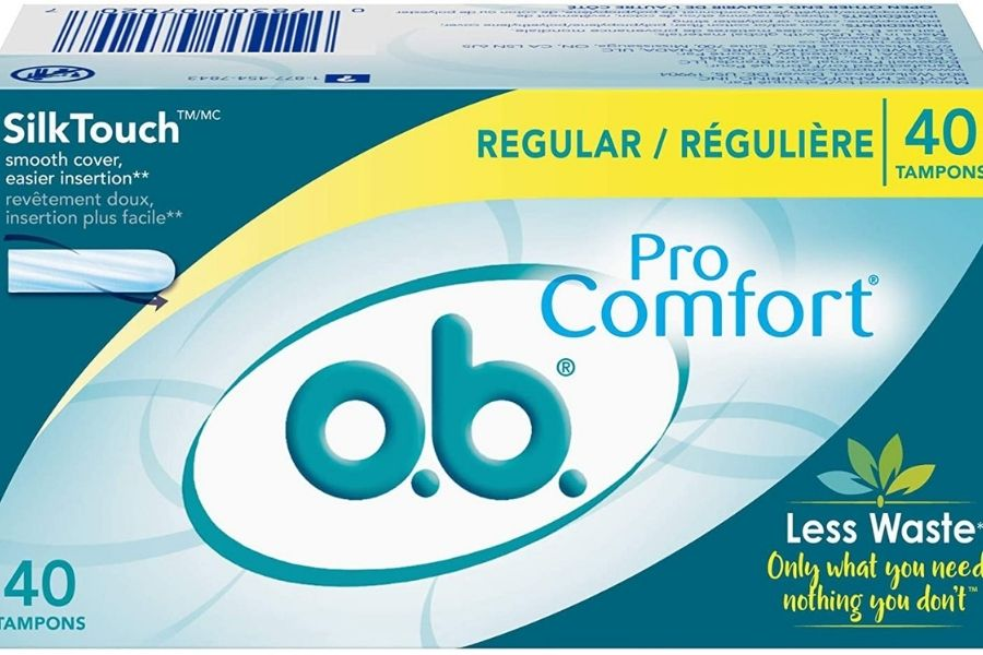 best tampon foe beginner in india O.B PRO COMFORT Regular Tampon