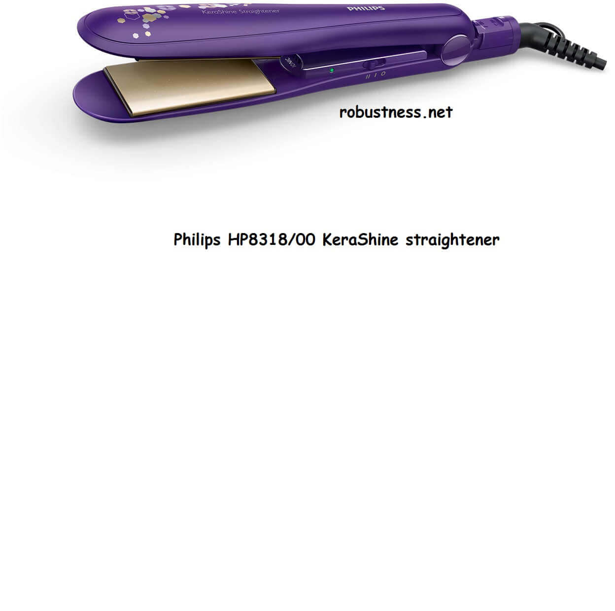 best philips hair straightener in india Philips HP8318