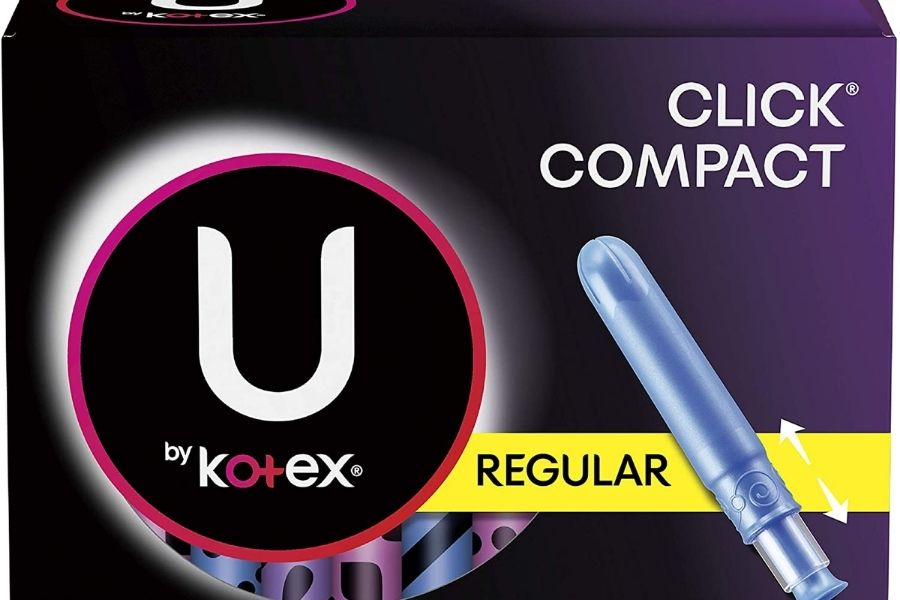 U by Kotex Security Tampons, Regular Absorbency