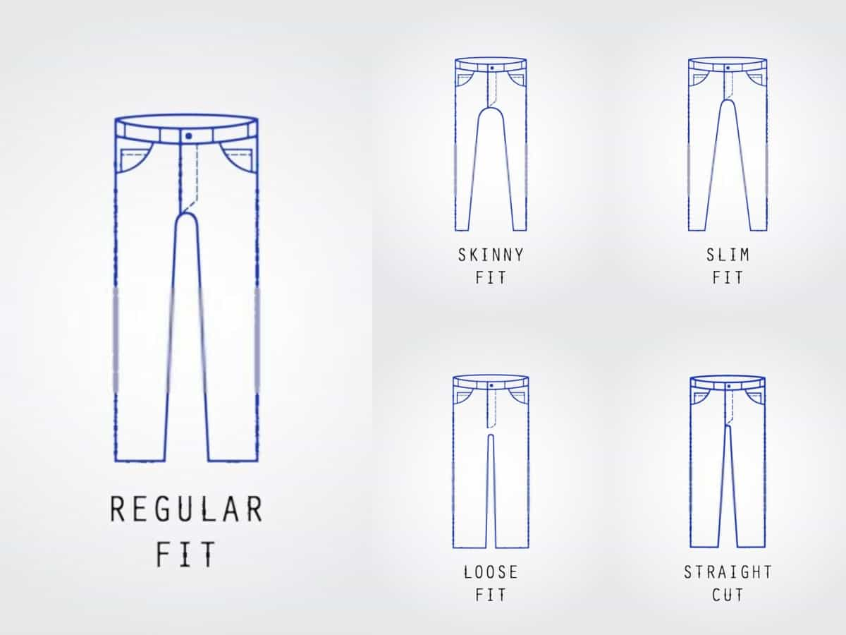 types of jeans fit