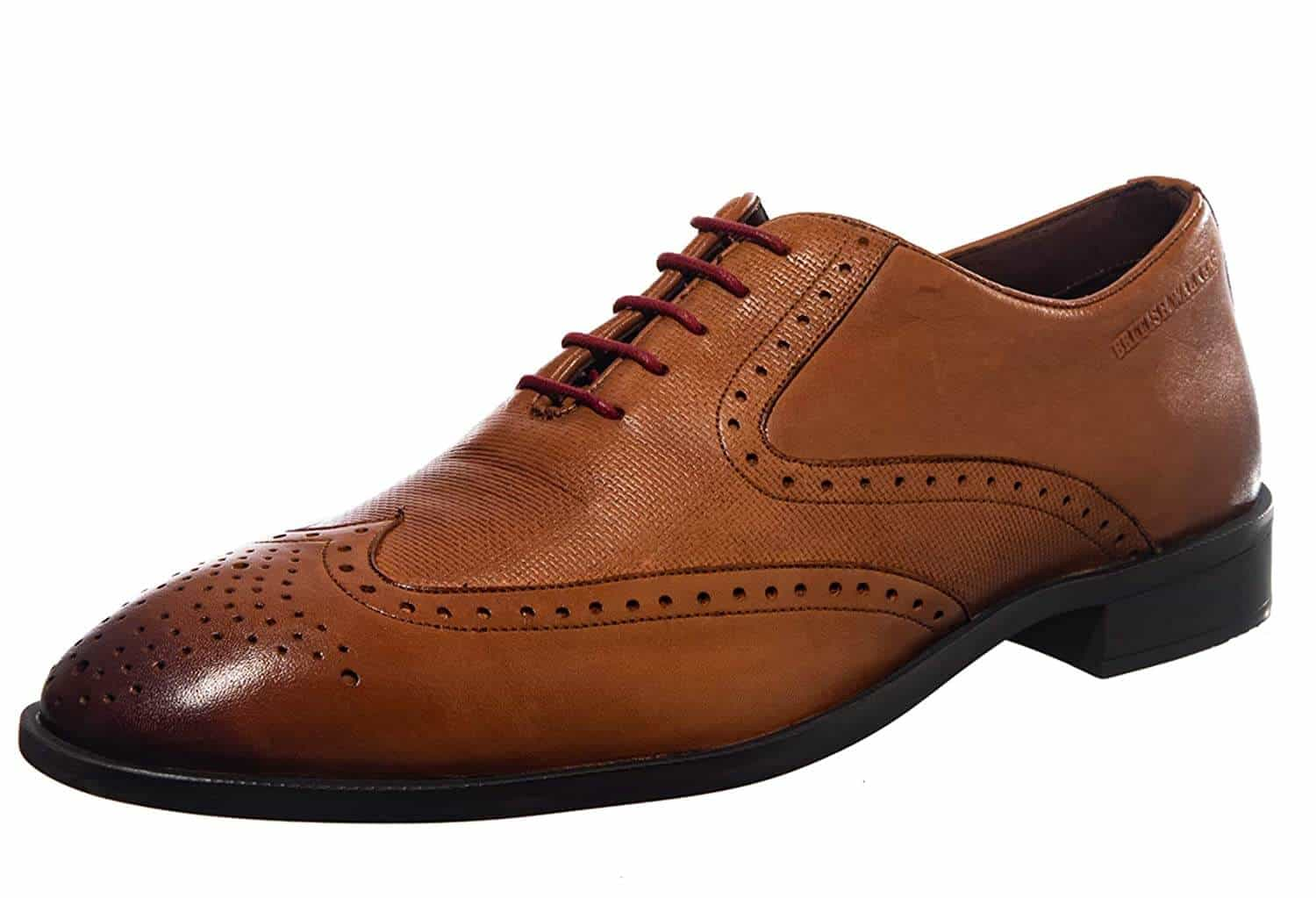BRITISH WALKERS Khadim's Men Formal Brogue Shoe-min