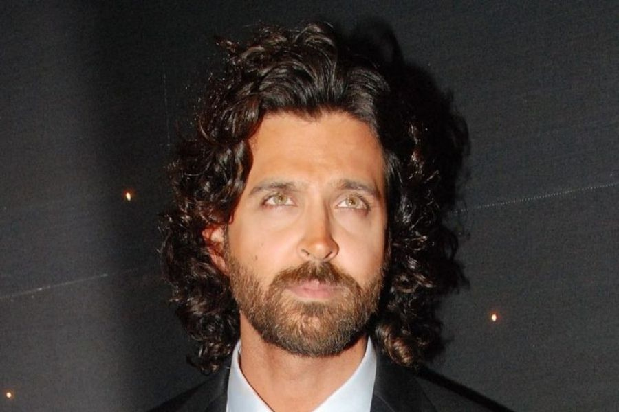 hrthik roshan in long curly hairstyle