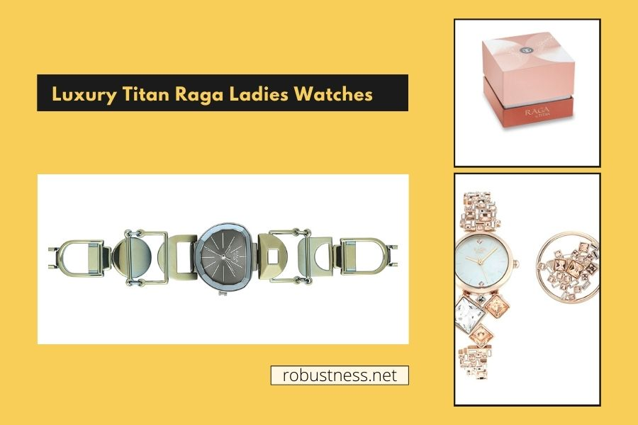 Latest collection of Luxury Titan Raga Ladies Watches
