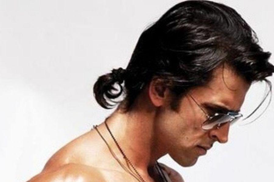 hrthik roshan in ponytail hair style