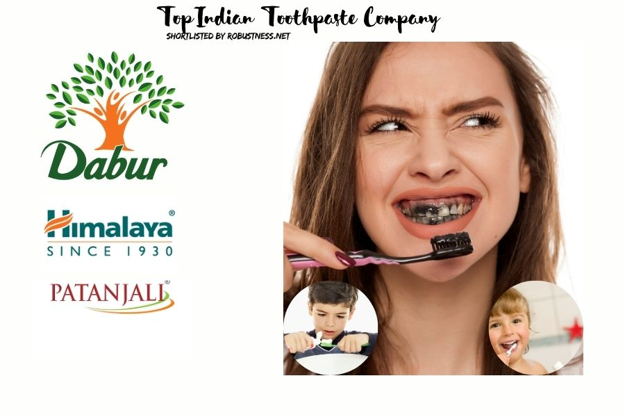 top indian toothpaste company