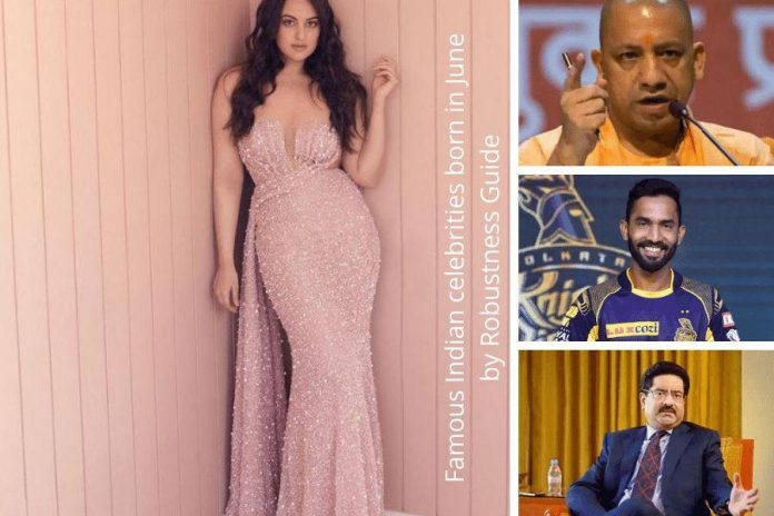 Famous Indian celebrities born in June