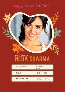 Neha Sharma bhagalpur born bollywood heroine