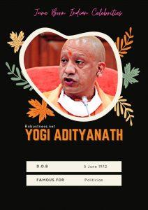 Politician yoginath birthday in june month