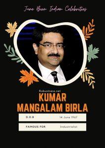 kumar manglam birla birthday in july month